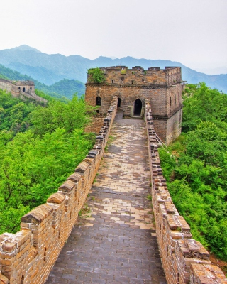 Free Great Wonder Wall in China Picture for Nokia Asha 202