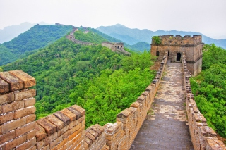Great Wonder Wall in China Background for Android, iPhone and iPad