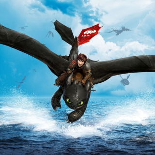 2014 How To Train Your Dragon - Obrázkek zdarma pro iPad