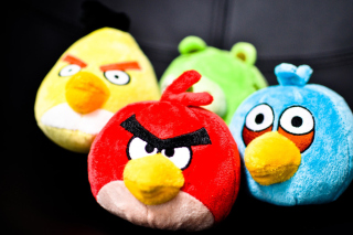 Plush Angry Birds Wallpaper for Android, iPhone and iPad