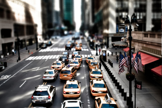 New York Street Background for Android, iPhone and iPad
