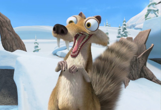 Ice Age Background for Android, iPhone and iPad