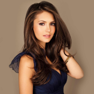 Most Beautiful Hollywood Actress Nina Dobrev - Obrázkek zdarma pro iPad