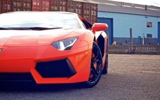 New Lamborghini Aventador Picture for 1600x900