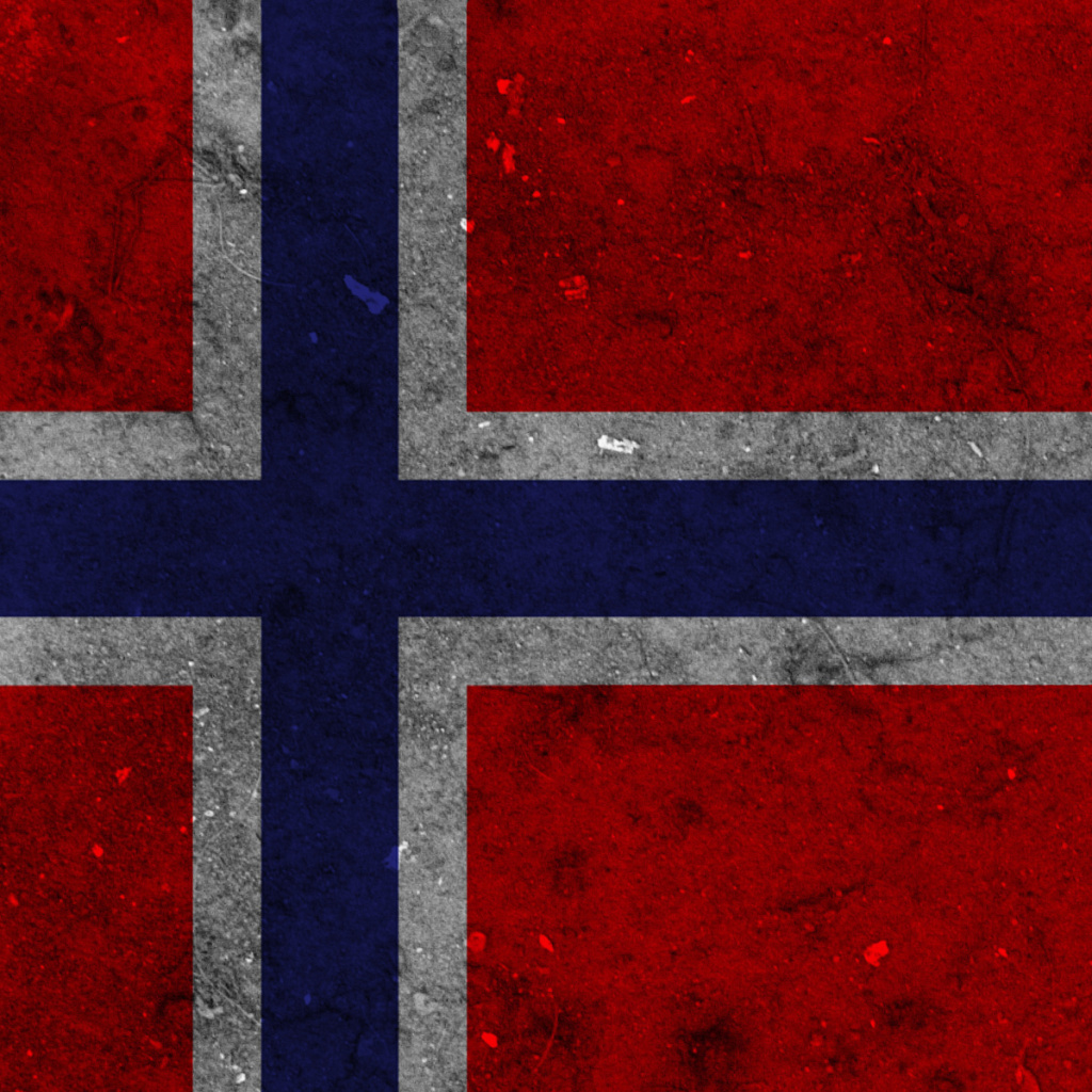Screenshot №1 pro téma Norway Flag Scandinavian Cross 1024x1024