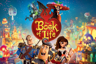 The Book of Life Background for 1400x1050
