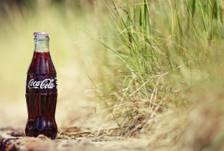 Bottle Of Coke Background for Android, iPhone and iPad
