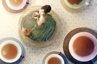 Tea Ceremony Background for Android, iPhone and iPad