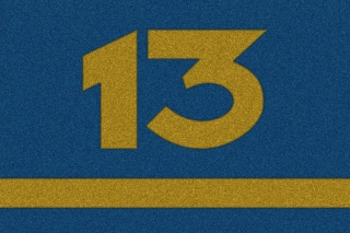 Number 13 Picture for Android, iPhone and iPad