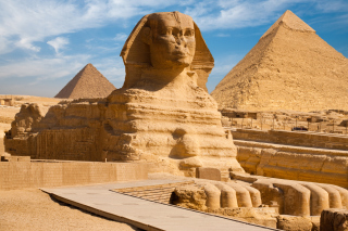 Egyptian Pyramids Background for Android, iPhone and iPad