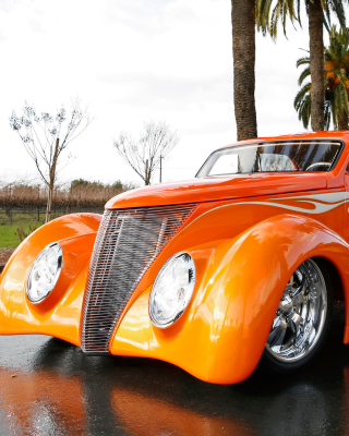 1937 Ford Sedan Dreamsicle Oze 37 sfondi gratuiti per iPhone 4S