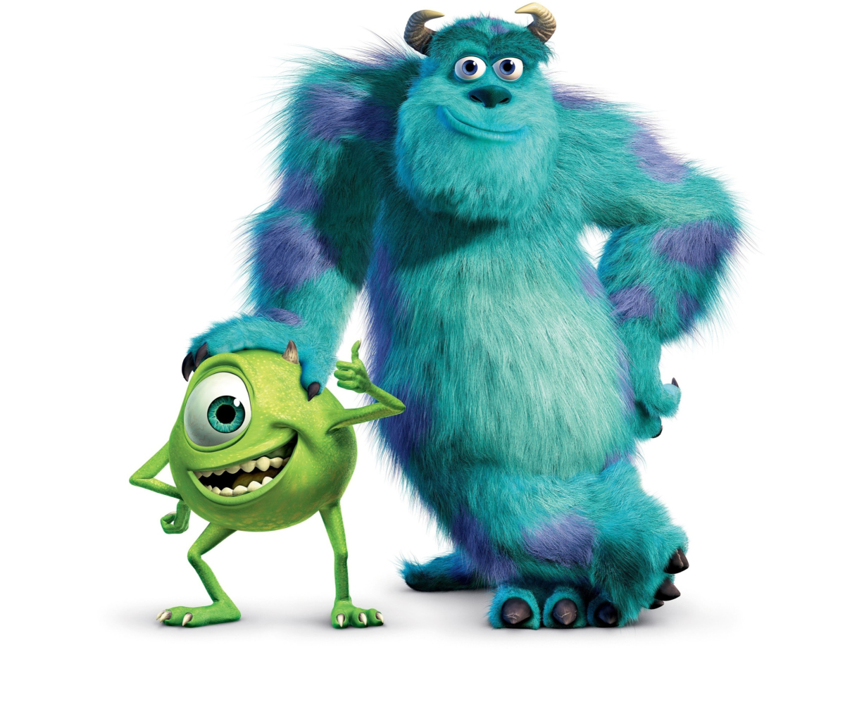 Screenshot №1 pro téma Monsters Inc 1200x1024