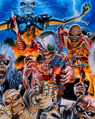 Iron Maiden Wallpaper for Nokia C2-05