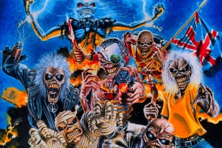 Kostenloses Iron Maiden Wallpaper für Samsung I9080 Galaxy Grand