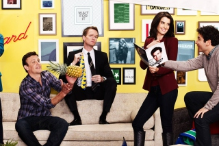 How I Met Your Mother Party Picture for Android, iPhone and iPad