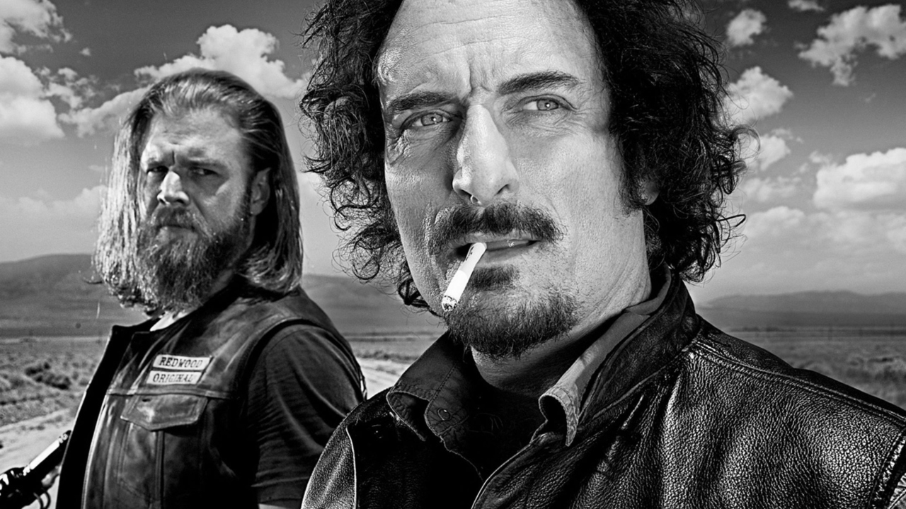 Opie and Tig in Sons of Anarchy