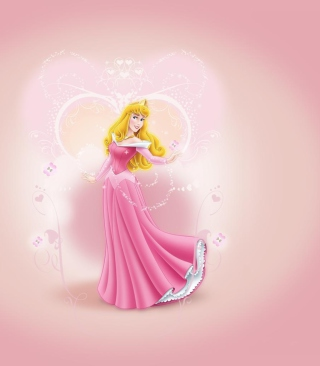 Princess Aurora Disney papel de parede para celular para iPhone 6