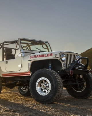 Classic Jeep Cj8 Scrambler Picture for Nokia Asha 311