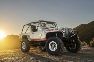 Classic Jeep Cj8 Scrambler Background for Android, iPhone and iPad