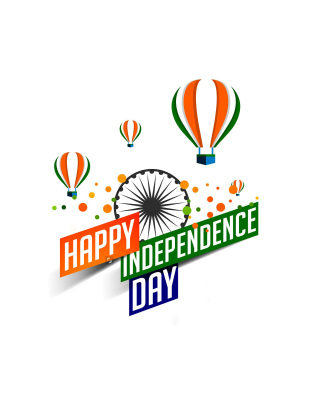 Happy Independence Day of India 2016, 2017 - Obrázkek zdarma pro 360x400