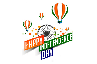 Happy Independence Day of India 2016, 2017 - Obrázkek zdarma pro Motorola DROID 3