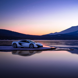 Gran Turismo Sport McLaren Wallpaper for iPad mini
