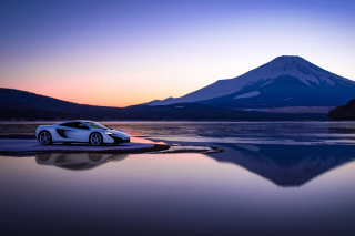 Gran Turismo Sport McLaren Background for Samsung Galaxy Note 2 N7100