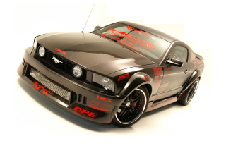 Ford Mustang Custom Tuning Background for Android, iPhone and iPad