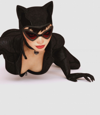 Free Batman Arkham City Video Game Catwoman Picture for HTC Titan