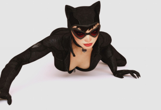 Kostenloses Batman Arkham City Video Game Catwoman Wallpaper für Sony Xperia Z1