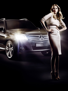 Screenshot №1 pro téma Mercedes Benz Fashion Week Advertising 240x320