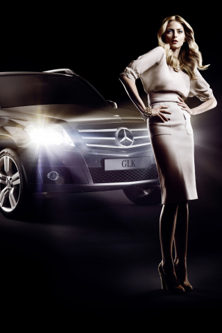 Screenshot №1 pro téma Mercedes Benz Fashion Week Advertising 320x480