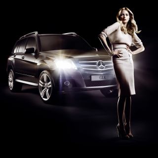 Mercedes Benz Fashion Week Advertising - Obrázkek zdarma pro 208x208