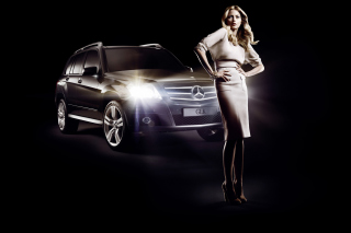 Kostenloses Mercedes Benz Fashion Week Advertising Wallpaper für Android, iPhone und iPad