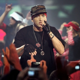 Eminem Live Concert Picture for iPad 3