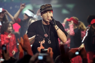 Eminem Live Concert Picture for Android, iPhone and iPad