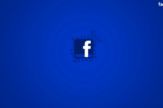 Facebook Social Network Logo papel de parede para celular para Widescreen Desktop PC 1600x900