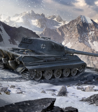 Tiger II - World of Tanks Picture for iPhone 6 Plus