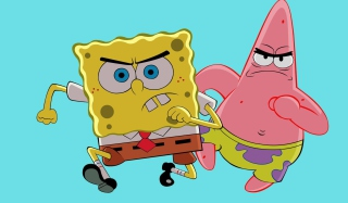 Grumpy Spongebob Wallpaper for Android, iPhone and iPad