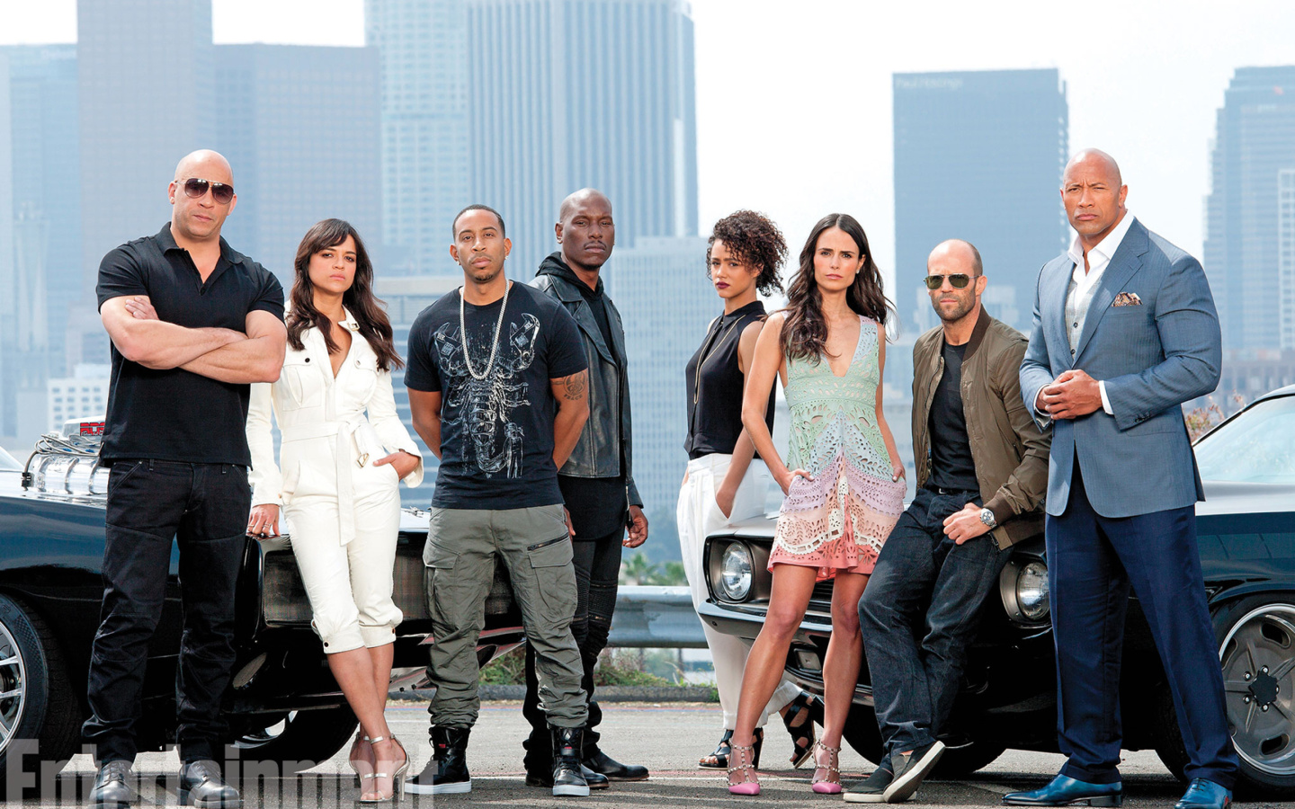 Screenshot №1 pro téma Fast And Furious 7 1440x900