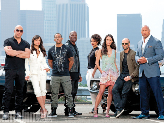 Screenshot №1 pro téma Fast And Furious 7 640x480