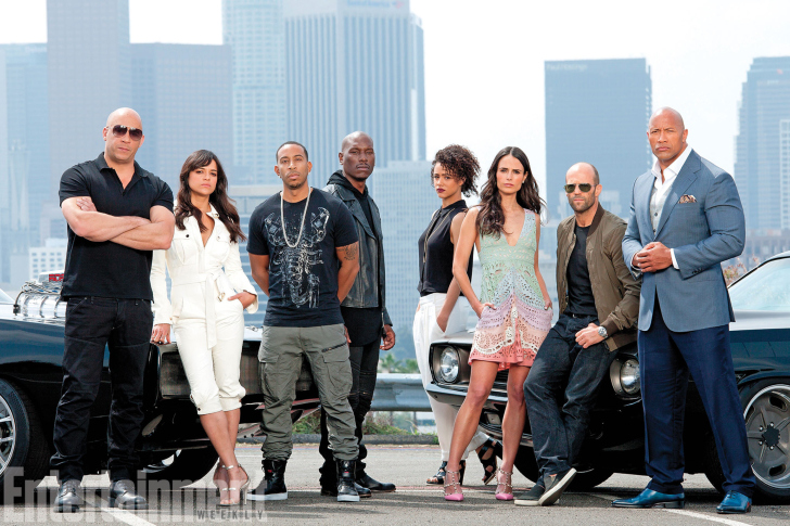Screenshot №1 pro téma Fast And Furious 7