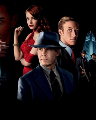 Gangster Squad Background for 240x320