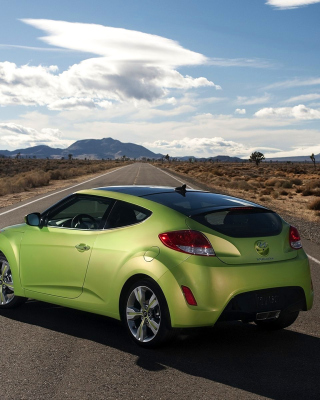 Free Hyundai Veloster 3 Door Picture for iPhone 6 Plus