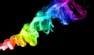 Colorful Smoke Picture for Desktop 1280x720 HDTV