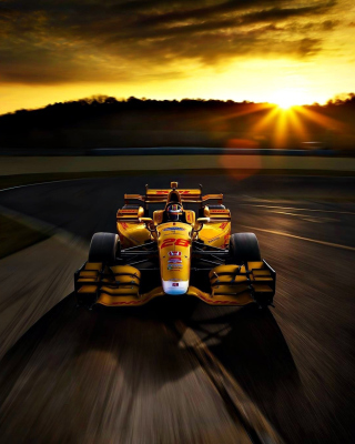 Honda Formula 1 Race Car Picture for 640x1136