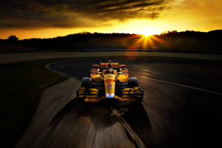 Honda Formula 1 Race Car Wallpaper for 1080x960
