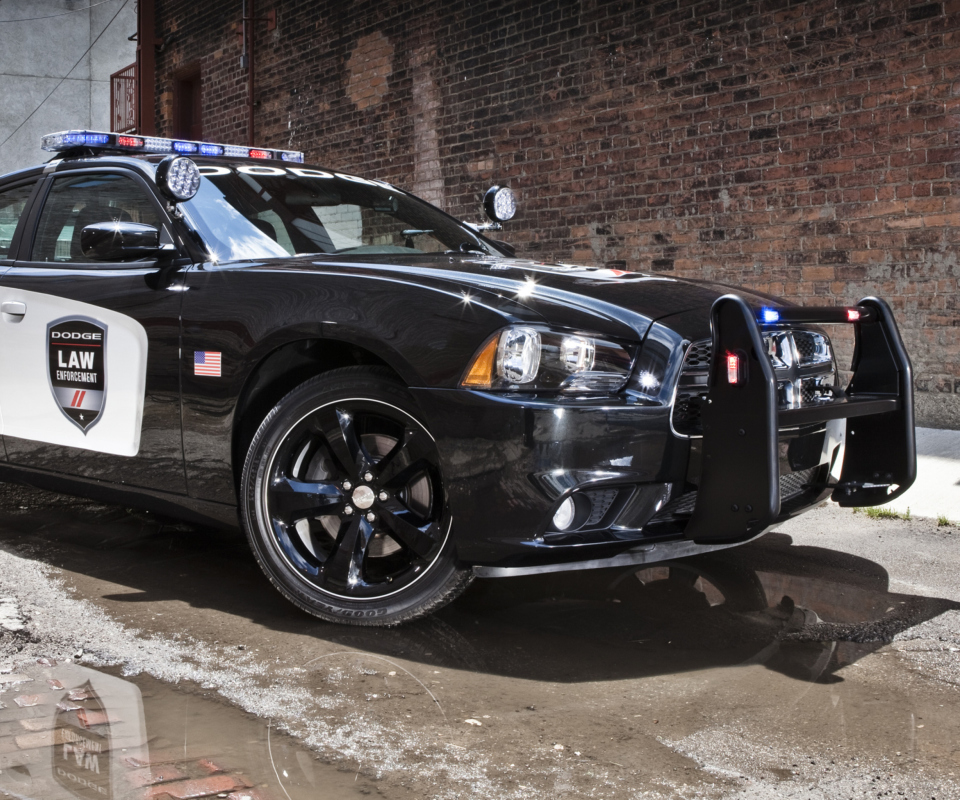 Обои Dodge Charger - Police Car 960x800