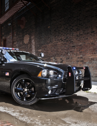 Dodge Charger - Police Car papel de parede para celular para iPhone 6 Plus