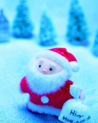Free Cute Santa Claus Picture for HTC Titan